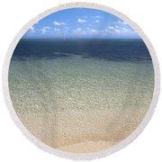 Great Barrier Reef Round Beach Towel