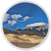 The Great Sand Dunes National Park 2 Round Beach Towel
