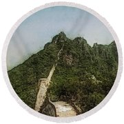 Great Wall 0033 - Lux Sl Round Beach Towel