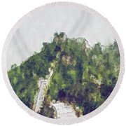 Great Wall 0033 - Plein Air 2 Sl Round Beach Towel