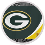 Green Bay Packers Round Beach Towel
