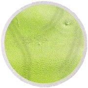 Green Round Beach Towel