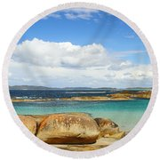 Greens Pool - Western Australia 2am-112587 Round Beach Towel