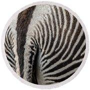 Grevy's Zebra 5 Round Beach Towel