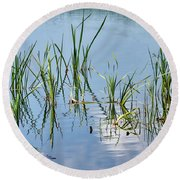 Greylake Reflections Round Beach Towel