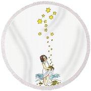 Grimm: The Star Money Round Beach Towel
