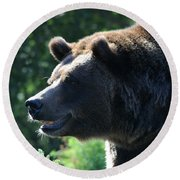 Grizzly-7755 Round Beach Towel