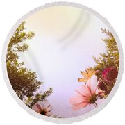 Ground View Round Beach Towel