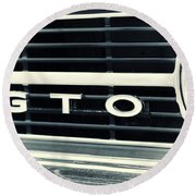 GTO Round Beach Towel