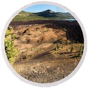 Guardian Of The Dunes Round Beach Towel