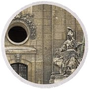 Guardians At The Gate - 2 Round Beach Towel