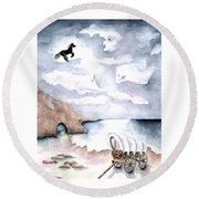 Guardians Round Beach Towel