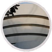 Guggenheim In The Round Round Beach Towel