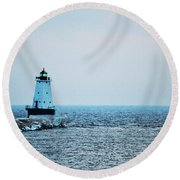 Guide The Way Round Beach Towel