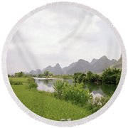 Guilin China Round Beach Towel