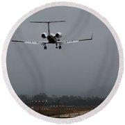 Gulfstream Approach Round Beach Towel