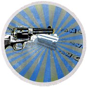 Gun 17 Round Beach Towel