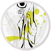 Gv081 Round Beach Towel