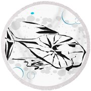 Gv084 Round Beach Towel