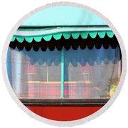 Gypsy Caravan Palm Springs Round Beach Towel