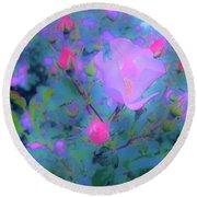 Gypsy Rose - Flora - Garden Round Beach Towel
