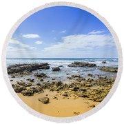 Hadera Mediterranean Beach Round Beach Towel