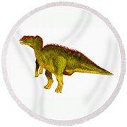 Hadrosaurus Round Beach Towel