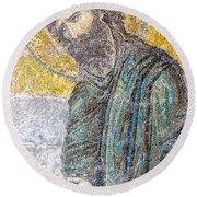 Hagia Sofia Mosaic 12 Round Beach Towel