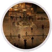 Hagia Sophia 1 Round Beach Towel