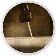 Hammer And A Nail Round Beach Towel