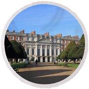 Hampton Court Palace England Round Beach Towel