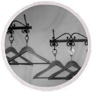 Hangers Round Beach Towel by Dany Lison
