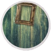 Hanging Frame Round Beach Towel