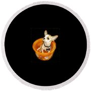 Happy Halloween II Round Beach Towel