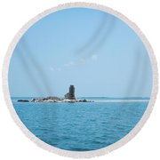Harbor Island Series 1 Round Beach Towel