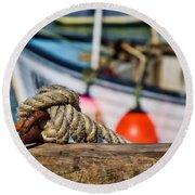 Harbour Knots Round Beach Towel