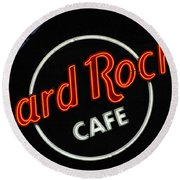 Hard Rock - St. Louis Round Beach Towel