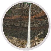Hardraw Force Yorkshire Round Beach Towel