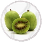 Hardy Kiwifruit Round Beach Towel