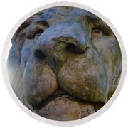 Harlaxton Lions Round Beach Towel