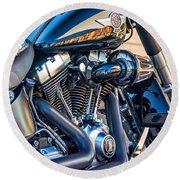 Harley Davidson 2 Round Beach Towel