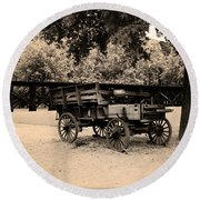Harpers Ferry Wagon Round Beach Towel