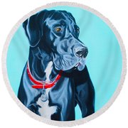 Harvey Round Beach Towel