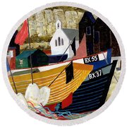 Hastings Remembered Round Beach Towel