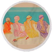 Hats By Jrr Round Beach Towel