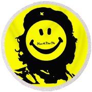 Have A Nice Che Guevara Round Beach Towel
