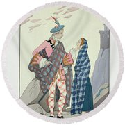 Have No Fear Little One Round Beach Towel