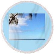Hawaiian Landscape 11 Round Beach Towel