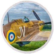 Hawker Hurricane 7d08c Round Beach Towel