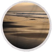 Hazy Croyde Round Beach Towel